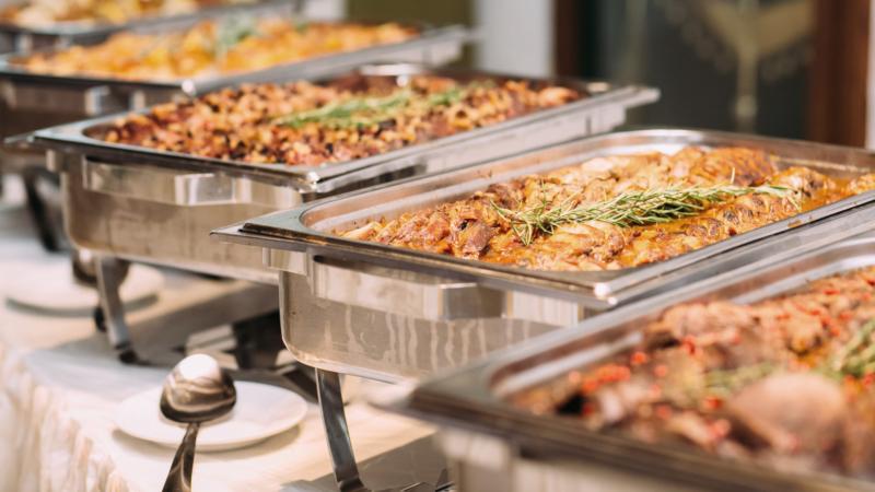 Catering voor partijen thuis of bedrijfsfeesten door Den Driehoek Vinkel