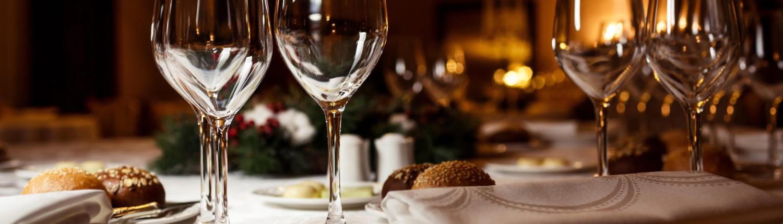 Ingedekte tafel restaurant Den Driehoek